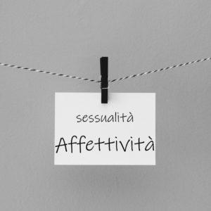 foglio sessualità affettività